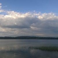 Photo taken at Käyrälampi by Tanja H. on 5/23/2017