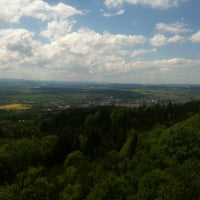 Photo taken at Rozhledna Jarník by Karel F. on 5/18/2013