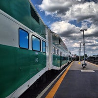 Photo taken at Port Credit GO Station by Brian B. on 7/28/2013