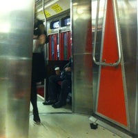 Photo taken at TTC Streetcar #501 Queen by Brian B. on 12/9/2012