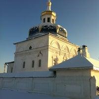 Photo taken at Свято-Знаменский Абалакский монастырь by Станислав А. on 12/16/2012