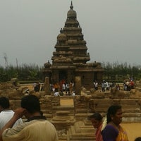 Photo taken at Shore Temple by Vishnu P. on 5/12/2013