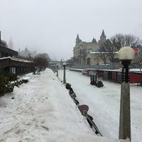 Photo taken at Rideau Canal Skateway by Ryan W. on 2/15/2018