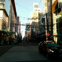 Photo taken at Granville Mall by Ryan W. on 6/23/2017