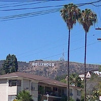 Photo taken at Hollywood Sign View by Ryan W. on 8/4/2015