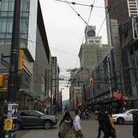 Photo taken at Granville Mall by Ryan W. on 12/24/2017