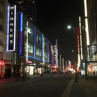 Photo taken at Granville Mall by Ryan W. on 12/8/2017