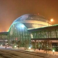 Photo taken at Astana Nursultan Nazarbayev International Airport (TSE) by Thorsten E. on 1/22/2013