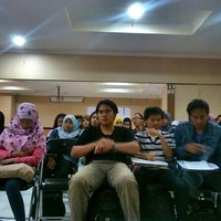 Photo taken at Gedung A FISIP by Iwan N. on 4/26/2014