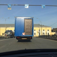 Photo taken at Лермонтовский пр 55 by Вадим К. on 2/27/2014