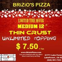 Photo taken at Brizio's Pizza by Brizio's Pizza on 2/24/2014