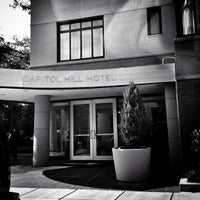 Photo taken at Capitol Hill Hotel by Ed S. on 6/10/2013