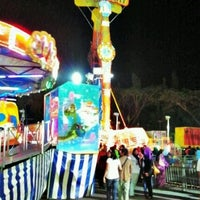 Photo taken at Fun Fair, Perkarangan Stadium Darulaman, Alor Setar Kedah by Leman R. on 1/5/2013