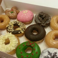Photo taken at Krispy Kreme by Enigz C. on 12/31/2012