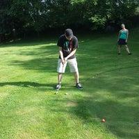 Photo taken at golf Škůdra by Pavla M. on 8/7/2014