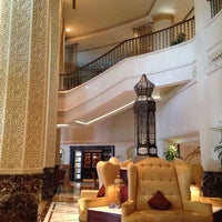 Photo taken at Sheraton Abu Dhabi Hotel & Resort by Fatima J. on 6/17/2014
