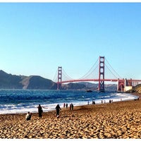 Photo taken at Baker Beach by Michelle D. on 5/19/2013