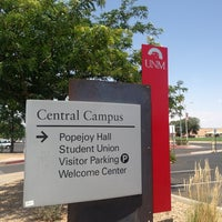 Photo taken at University of New Mexico by Michelle D. on 7/5/2013