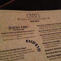 Photo taken at Capo's by Nancy R. on 1/13/2013