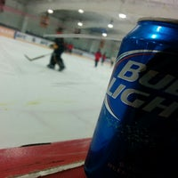 Photo taken at Oceanside Ice Arena by Thomas T. on 3/4/2014