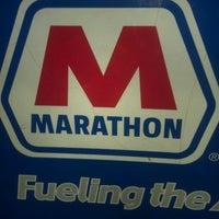 Photo taken at Marathon by Veronica S. on 3/24/2013