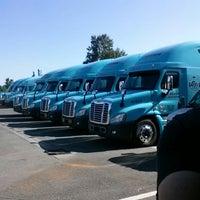 Photo taken at Gordon Trucking by Paul D. on 7/16/2013