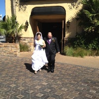 Photo taken at Viva Las Vegas Wedding Chapel Inc. by Angie P. on 10/20/2012