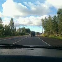 Photo taken at Киевское шоссе by Полина М. on 8/9/2012