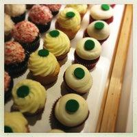 Photo taken at Kara's Cupcakes by Dennis D. on 12/23/2012