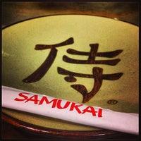 Photo taken at Samurai by Carlos O. on 4/1/2013