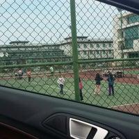 Photo taken at Mehmet Akif Ersoy Tenis Kortlari by Burhan A. on 5/22/2014