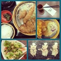 Photo taken at Tonkatsu by Terazawa by Cherry P. on 8/30/2014