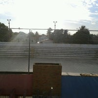 Photo taken at Quadra Municipal by Wallace B. on 11/23/2012
