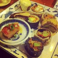 Photo taken at Miya's Sushi by Hideki S. on 10/14/2012