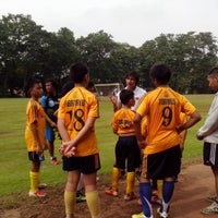 Photo taken at Marist School Football Grounds by Roel A. on 9/1/2013