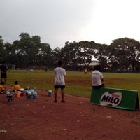 Photo taken at Marist School Football Grounds by Roel A. on 9/7/2013