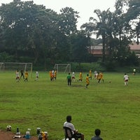 Photo taken at Marist School Football Grounds by Roel A. on 10/9/2016