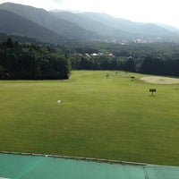 Photo taken at Fujiya Hotel Sengoku Golf Course by Ken H. on 9/5/2014
