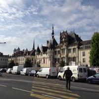 Photo taken at Place Saint-Pierre by Виталий on 5/6/2014