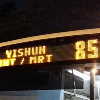 Photo taken at SMRT Buses: Bus 853 by 脇杰倫 (. on 8/28/2013