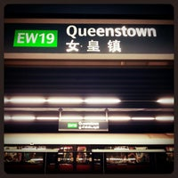 Photo taken at Queenstown MRT Station (EW19) by 陳杰倫 (. on 11/30/2012