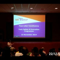 Photo taken at SBS Transit: Sengkang Depot (SKD) by 陳杰倫 (. on 11/22/2014