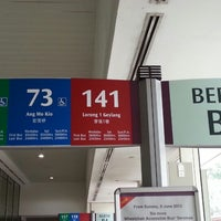 Photo taken at Toa Payoh Bus Interchange by 陳杰倫 (. on 6/10/2013