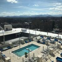 Photo taken at Aloft Asheville Downtown by Michelle J. on 2/25/2017