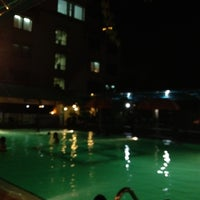 Photo taken at Swimming Pool Agas International Hotel by rizka d. on 10/22/2012