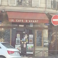 Photo taken at Cafe D'avant by Lucie D. on 4/1/2013