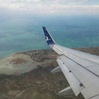 Photo taken at Van Ferit Melen Airport (VAN) by Abdullah P. on 4/20/2013