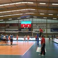 Photo taken at Volley Asse Lennik by Koen M. on 4/25/2015