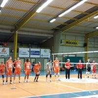 Photo taken at Volley Asse Lennik by Koen M. on 1/4/2014