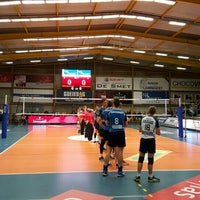 Photo taken at Volley Asse Lennik by Koen M. on 12/9/2015